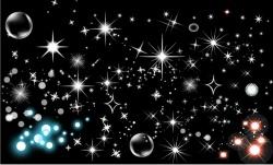 shining-star-bubbles-vector