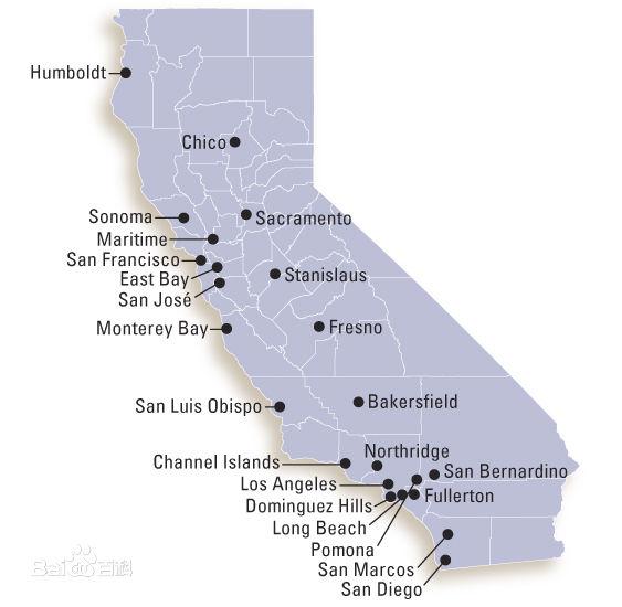 csu map